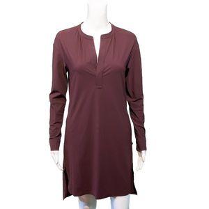 Lululemon Effortless Dress Bordeaux Drama Burgundy
